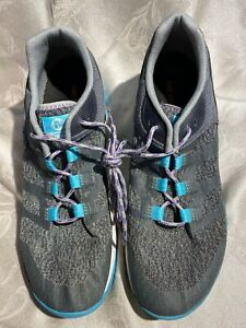 Merrell Q Form2 Women's Gray And Turquoise Sneakers Size 10/41