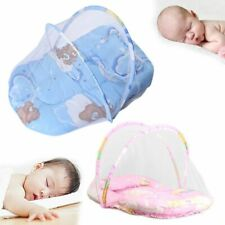 Mosquito Baby Net Pillow Bed Crib Infant Tent Foldable Portable Folding Cushion