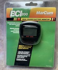 SDM MarCum BCI200 Dual source Battery Monitor Ice Fishing NEW
