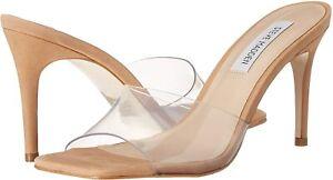 Steve Madden Women's Avoid Heeled Sandal, Clear, Size 7.5 dS2E