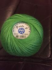 """DMC Perle 5 Cotton 5g Skein Mint Green /""""954/"""""""