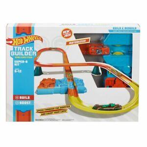 Hot Wheels Track Builder Unlimited Super-8 Kit Track Set Includes Multiple R,