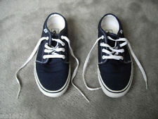 Patternless Deck Shoes Lace Up Trainers for Women