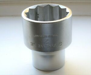 """Stahlwille 1"""" Drive 2"""" A/F Bi-Hexagon Socket, Excellent Condition."""