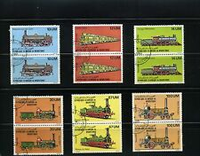 t r a i n s'' == of MAURITANIA,- ''LOCOMOTIVES''- RUTE CHICAGO = 6  pairs  =1980