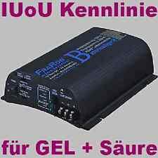 Vollautomatik Batterie Ladegerät 12 Volt 20A IUoU   2x Ladeausgang / getaktet
