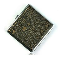 Men's Creative Exquisite Portable Leather Cigarette Case (Hold 20 Cigarettes)*