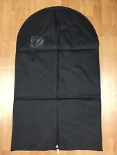 Black Non-woven Dust-proof garment Cover Suit Dress Storage  Travel Garment Bag
