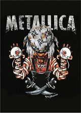 METALLICA - PIRATE - FABRIC POSTER - 30x40 WALL HANGING - HFL0509