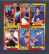 1990 Topps Traded Baseball Boston Red Sox TEAM SET - MINT