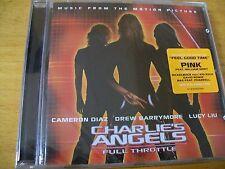 CHARLIE'S  ANGELS O.S.T. CD SIGILLATO DAVID BOWIE PINK FEAT W. ORBIT  BON JOVI