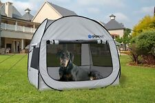 Gigatent Pop-Up Critter Cabin Iii Pet Tent Dog Puppy House Crate New Msrp $72.99