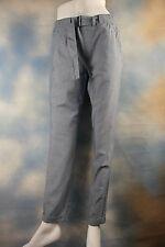 NWT $245 Vince Blue Soft Cotton Cuff Pants Jeans Sz S 4 6 Wow!