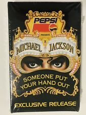 Michael Jackson Someone Put Your Hand Out Cassette Tape Pepsi RARE 1991