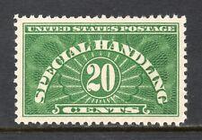 Scott # QE3, Unused, VLH, XF, 20¢ Special Handling, 1928