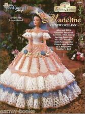 Madeline of New Orleans Ladies of Fashion Crochet Pattern for Barbie Dolls NEW