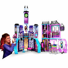 Monster High School Deluxe PlaySet Dollhouse Tower Castle Girls Kids Toy Set