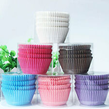 100Pcs Paper Cake Muffin Pastry Cupcake Dessert Baking Case Liner Wedding Party