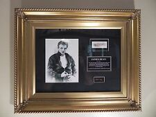 James Dean's Hair from the Movie Gaint with COA Framed Movie Stars