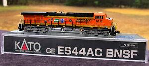 BNSF HERITAGE 25th ANNIVERSARY ES44AC CUSTOM KATO N #6111 RTR DCC READY NEW