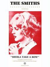 "The Smiths SHIELA TAKE A BOW 16"" x 12"" Photo Repro Promo  Poster"