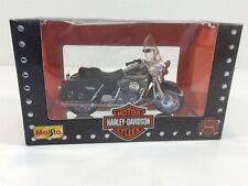1997 Maisto Harley Davidson 1:18 NIB Die Cast FLHR Road King Black