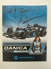 """DANICA PATRICK AUTOGRAPHED 8x10"""" SIGNED Andretti Green Picture IndyCar Racing"""