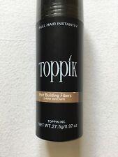 Toppik Hair Building Thickening Fibers (no Spray applicator). Dark brown.