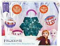 Disney Frozen 2 Make Your Own Bracelet Craft Set For Girls and Toddlers