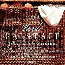 "VERDI ""FALSTAFF"" (Jean-Philippe Lafont, John Eliot Gardiner)  PHILIPS 2 CDs"