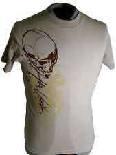 "The Used ""Skull"" Adult T-Shirt ^ Size M Tan ^ New Rare Shirt Bert McCracken"
