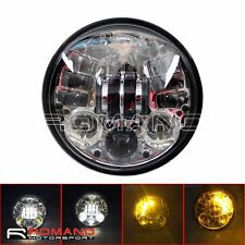 """5.75"""" Motorcycle Daymaker Head Light With Turn Signal Light For Harley Sportster"""