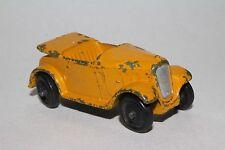 1940's Dinky #35d Austin 7 Convertible, Original, Yellow, Lot #3