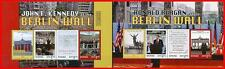 Ghana 2014 BERLIN WALL FALL ANNIV. x2 M/S MNH USA PRES.REAGAN & KENNEDY