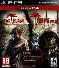Dead Island Double Pack ~ PS3 papel tapiz de la copia de fotos ())