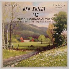 RED SMILEY & BLUEGRASS CUTUPS: Most Requested Gospel Songs RIMROCK early LP VG++