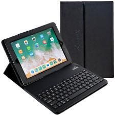 Alpatronix KX150 Leather Folio Case w/ Bluetooth Keyboard for iPad Pro 10.5-inch