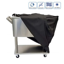 Heavy-duty Cooler Cart Cover Waterproof 80 Qt Rolling Cooking Cooler Protective