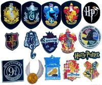 harry potter iron on patch Gryffindor slytherin hufflepuff ravenclaw all badges