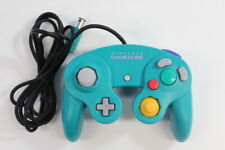 Official Nintendo GameCube Controller Pad Teal Emerald Blue T3 Tight OEM GO502