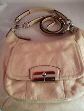 Coach Kristin Crossbody M1275-F22306 Ivory Leather Hobo Bag