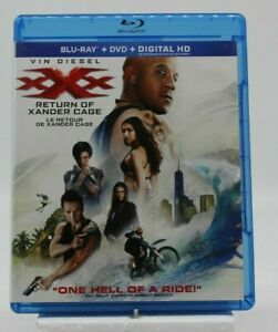 xXx Return of Xander Cage Blu Ray Gently Pre-owned Vin Diesel