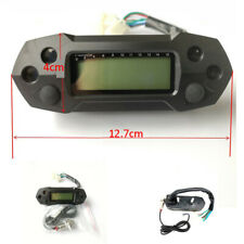 Motorcycle Speedometer Digital Odemeter Electric Injection Carburetor Meter LCD