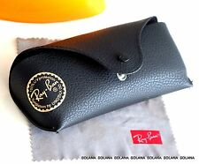 Ray-Ban Eyeglass Soft Sunglasses Black Case Authentic w/Cleaning Cloth