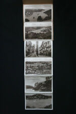 Vintage 1920s 6 Sepiatone Photos Lettercard of DARTMOUTH Devon W H Smith & Son