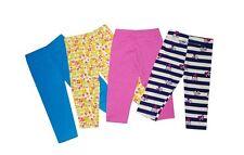 NEW! MYKA GIRL'S LEGGINGS SET - PACK OF 4 (SIZE SMALL/ 1 1/2- 2Y)