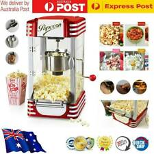Electric Popcorn Machine - Popper Popping Classic Cooker Microwave Red 310W AU