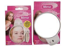BIADESIVO Light Up Specchio compatto con ventose lato di ingrandimento MAKE-UP