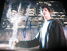 LOGAN LERMAN SIGNED AUTOGRAPH 8x10 PHOTO PERCY JACKSON PROMO IN PERSON COA NY E
