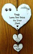 New Pet Loss Memorial Plaque Personalised Handmade Gift or Keepsake Dog Puppy